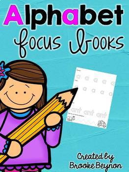 Focus Book Bundle - Alphabet Letters and Numbers 0-20