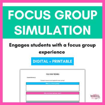Focus Group Simulation