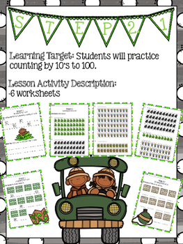 Focus Math - Book A Topic 2.1 - Grade 2 (Counting by 10s to 100)