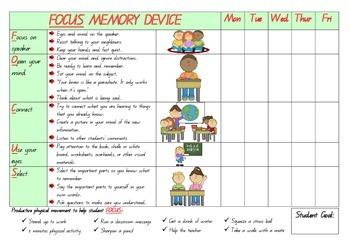 Focus Memory Poster