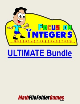 Focus on Integers (Games, Activities & Anchor Charts/Posters)