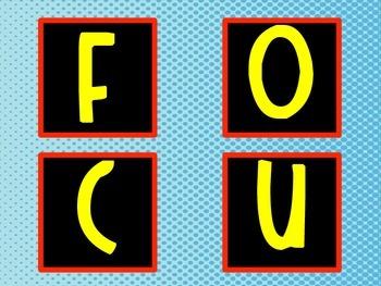 Focus Wall /Board Labels - ELA