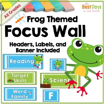 Focus Wall: Frogs