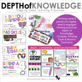 Depth of Knowledge and Learning Icons - Digging Deep - Cri