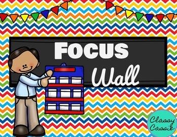 Focus Wall {Reading, Grammar, Writing, Spelling, Math, & More}