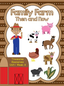 Focus Wall and Centers Family Farm  Second Grade Treasures