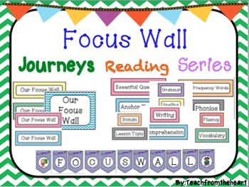 Focus Wall for Journeys Reading Series