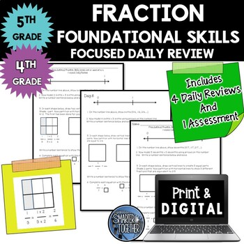 Equivalent Fractions/Foundational Skills - Focused Daily R