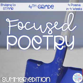 Focused Poetry Back-to-School Edition