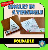 Foldable Angles in a Triangle