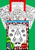Christmas Foldable Book - Trace and Color