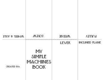 Foldable Simple Machines Mini Book