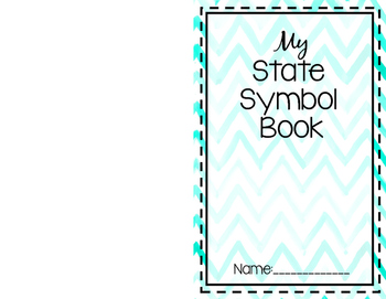 Foldable State Symbol Book (For any state)
