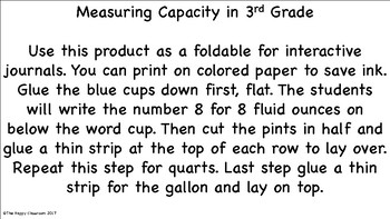 Foldable for Capacity