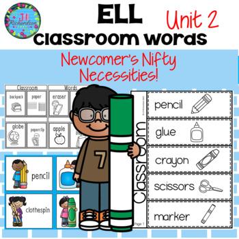 ESL Newcomer School Vocabulary! Great ESL Activities!