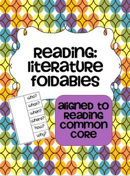 Foldables for Any Fiction Text