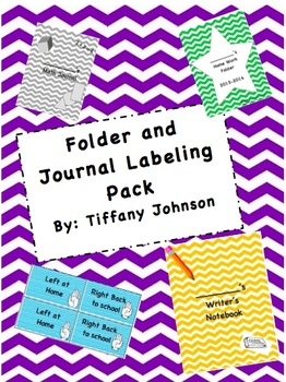 Folder and Journal Labeling Pack