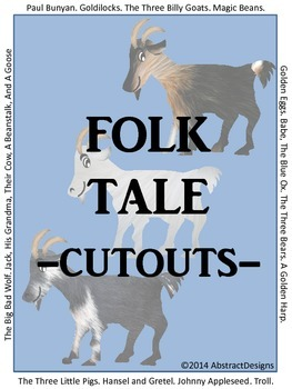Folk Tale Cutouts