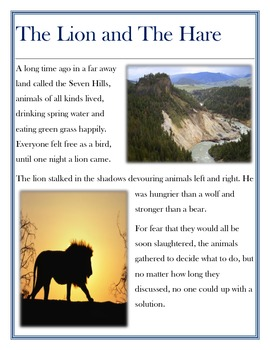 Folk Tale: The Lion and The Hare