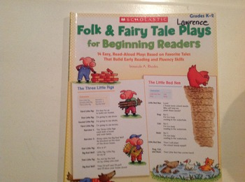 Folk and Failry tale plays for beginning readers