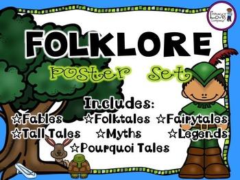 Folklore Poster Set