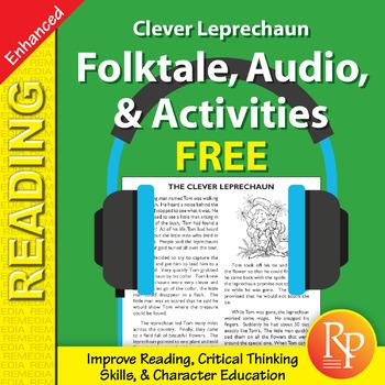 Folktale, Audio, & Activities: The Clever Leprechaun - Enh