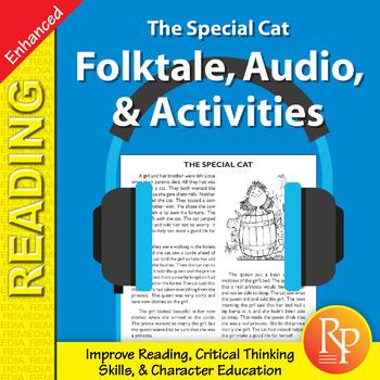 Folktale, Audio, & Activities: The Special Cat - Enhanced