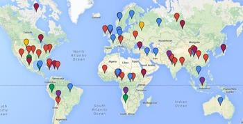 Folktale World Map