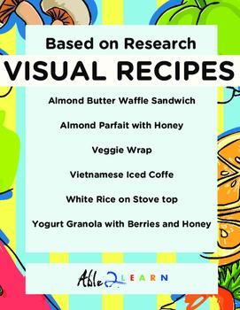 Follow Along Visual Recipes Simple Sentences & Comprehensi