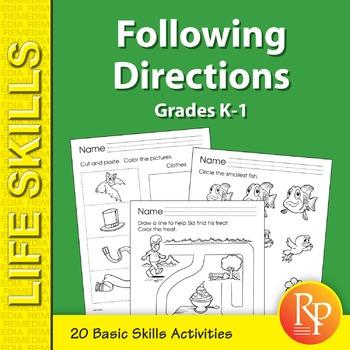 Beginning Following Directions Skills 1