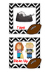Follow Directions - Visual Task Cards - Football Theme