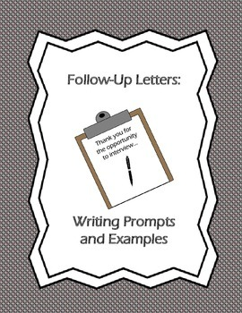 Follow-Up Letters: Writing Prompts and Examples