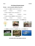 Follow of Energy and Ecosystem Assessment 5th Grade Common