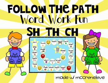 FREE SH CH TH {Follow the Path}
