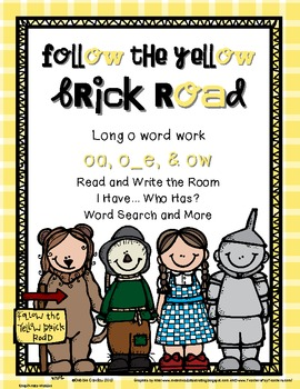 Follow the Yellow Brick Road: Word Work for Long O ( o_e,