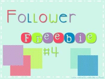 Follower Freebie #4~Chevron Papers C.U. Okay!