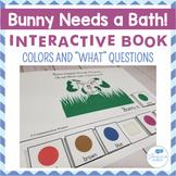 Freebie! Bunny Needs a Bath Interactive Book!