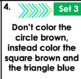 Following Auditory Directions Task Cards: Set 3