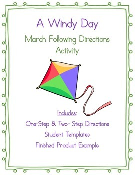 Following Directions Activity: A Windy Day Scene
