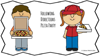 Following Directions Pizza Party