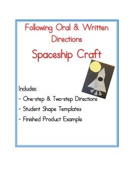 Following Directions: Spaceship Craft