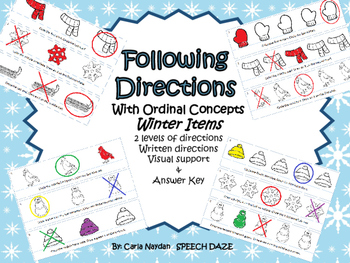 Following Directions with Ordinal Concepts-Winter