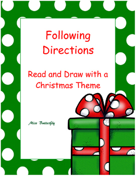 Christmas - Following directions