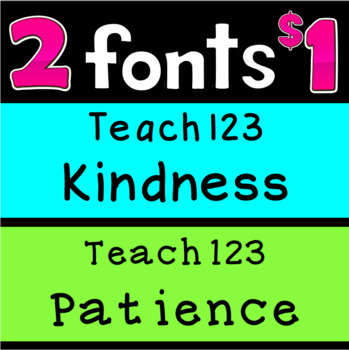 Font 2 for $1