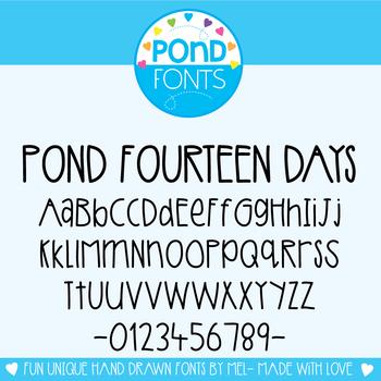Font {Fourteen Days}