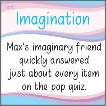 Font: Imagination (True Type Font)