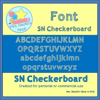 Font SN Checkerboard