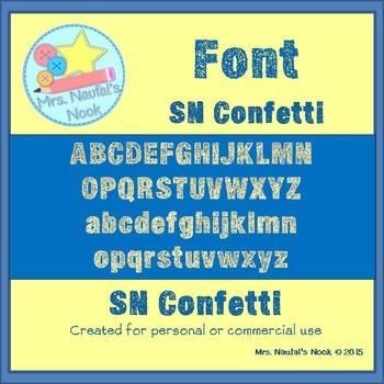 Font SN Confetti