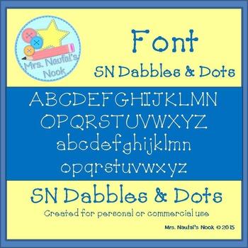 Font SN Dabbles & Dots