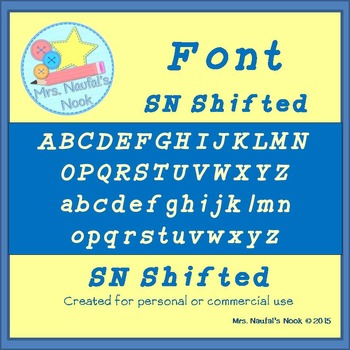 Font SN Shifted